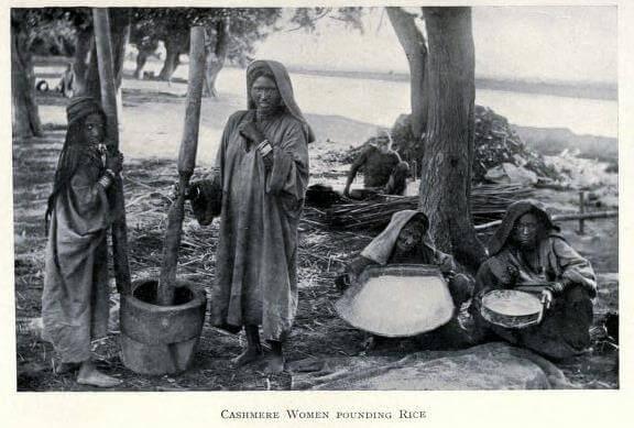 Kashmiri Women 1908