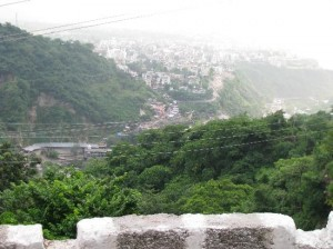 Katra View from Vaishno Devi