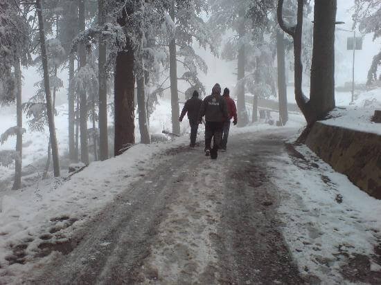 Patnitop in Winter