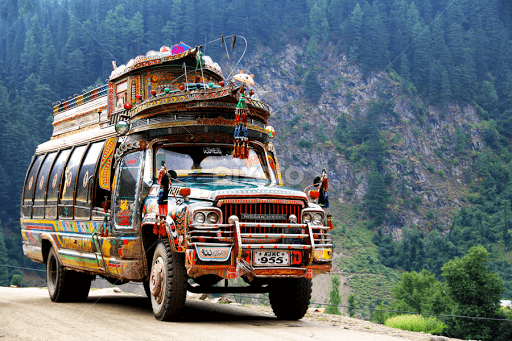 kashmir transportation