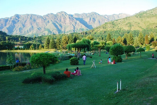 Nehru Botanical Garden Srinagar