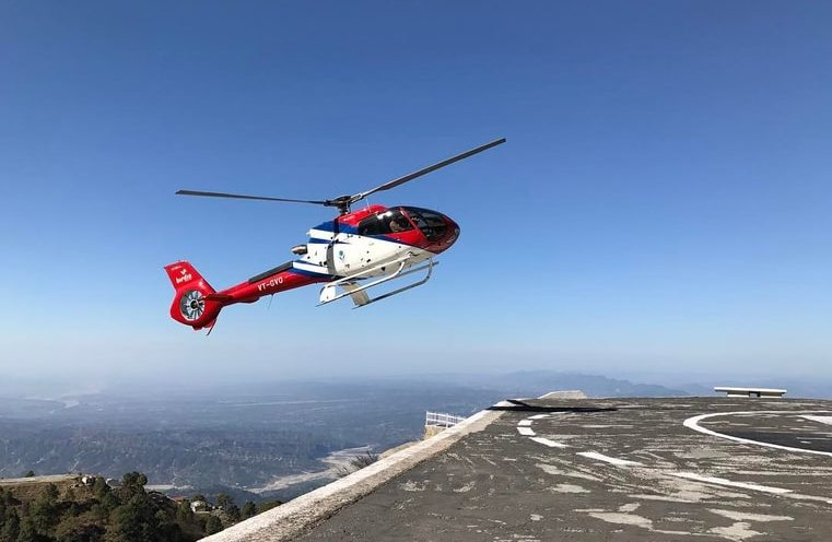 Vaishno Devi Darshan by Helicopter (2)